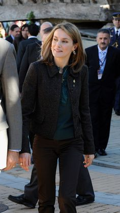 Queen Letizia of Spain Photos: Prince Felipe & Princess Letizia Visit 2008…