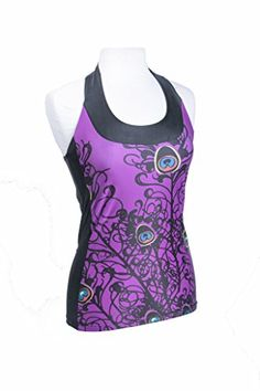 Moxie Cycling Womens TBack Jersey VioletBlack Large -- Details can be found by clicking on the image.