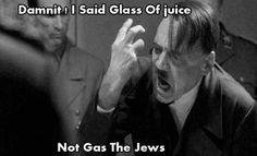 Hitler screaming :)