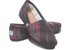 Pink Plaid Wool Women's Classics hero- size 8 please :)
