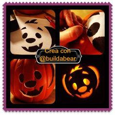 "Create, imagine and having fun with ""Spooky Halloween pumpkin carving stencils Kooky""  www.http://blog.buildabear.com/"