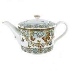 Blue Butterfly Porcelain - 5 Cup Teapot