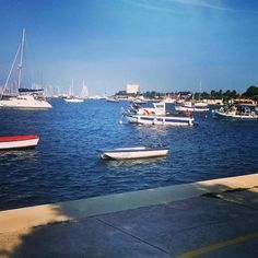 #Umago #Croazia #barche #barcheavela #mare #blu #vacanze