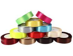 "25Yards 1""(25mm) Ribbon Wedding Party Craft Satin DIY hair Bow free shipping #Unbranded"
