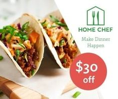 With the Home Chef meal delivery service get fresh ingredients as well as easy, chef-prepared meal recipes supplied weekly, right to your front door! Best Meal Delivery, Meal Delivery Service, The Jackson Five, Chef Work, Cooking Dishes, Dinner Options, Home Chef, Meals For The Week, Food Preparation