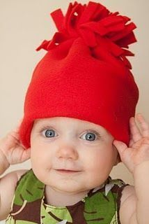 5031fa936e0 how to make fleece hat and scarf!!! Fleece Hat Pattern