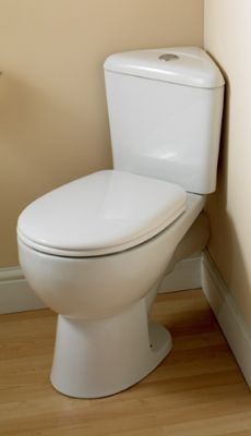 toilets for small bathrooms. compact toilets for small spaces American Standard Cadet 3 Powerwash Triangle Chair Height 2 Piece