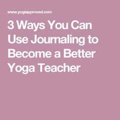 3 Ways You Can Use J