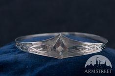 Couronne en titane médiévale faite à la main pour les hommes d'ArmStreet