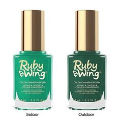 Ruby Wing Behind the Bleachers Color Changing Nail Polish