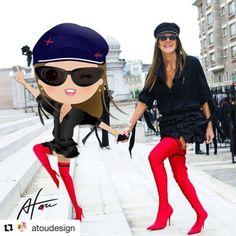 ( ・・・ by ❤️❤️❤️ , . Anna Dello Russo, Balenciaga, Photo Credit, Happy Halloween, Anime, Illustration, Design, Fashion, Moda