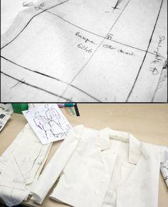 Atelier haute couture, sewing, Fashion atelier, fashion making, The making of a Chanel Haute Couture - Part 2