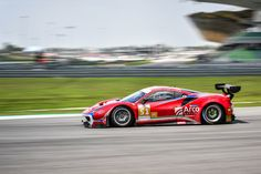 With the podium in Sepang, Spirit of Race ensured their second place in the Asian Le Mans Series with the Ferrari 488 driven by Alessandro Pier Guidi, Oswaldo Negri Junior, Francesco Piovanetti Sepang, Ferrari 488, Classic Sports Cars, Auto Racing, Le Mans, Race Cars, February, Spirit, Asian