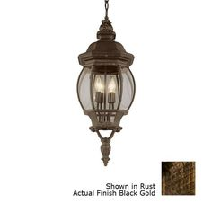 Image detail for -Shop Bel Air Lighting 32-in Black Gold Outdoor Pendant Light at Lowes ...