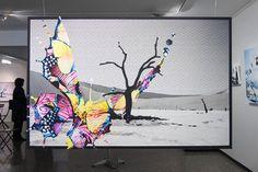 Collagen Art by Britta Dietsche Collagen, Graphic Design, Nice, Frame, Artwork, Home Decor, Picture Frame, Work Of Art, Decoration Home