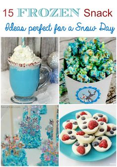 15 Frozen-Inspired Recipes That Are Begging to Be Made On a Snow Day