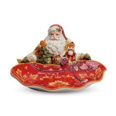 Regal Holiday Santa Server from Fitz & Floyd