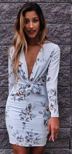 #summer #mishkahboutique #outfits   Floral Little Dress