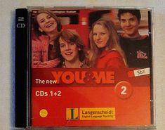 The New YOU & ME 2 Set m. Audio CD 1+2 Englisch Lehrwerk Verlag Langenscheid ELT Audio, 2 Set, Lp Vinyl, Amp, Baseball Cards, Movie Posters, Film Posters, Billboard