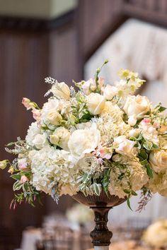 #centerpiece  Photography: Volatile Photography - volatilephoto.com Floral Design: Vanda Floral Design - vandafloral.com  Read More: http://stylemepretty.com/2012/07/23/burlingame-wedding-at-kohl-mansion-by-volatile-photography/