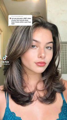 Haircuts Straight Hair, Haircuts For Medium Hair, Medium Hair Styles, Curly Hair Styles, Haircut For Medium Length Hair, Medium Hair Cuts, Layered Haircuts, Short Hair Cuts, Hair Tips Video