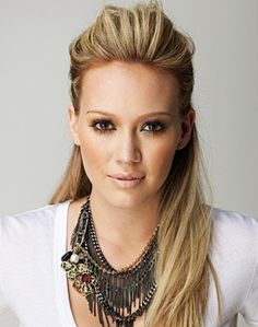 Hilary Duff. She has always been so gorgeous and a wonderful role model. :)