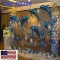 6 pcs Big Size Dolphin Foil Helium Ba...