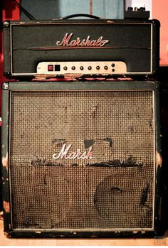 Well used Marshall. Even better amps, speakers and combos available at http://ozmusicreviews.com/music-promotions-and-discounts
