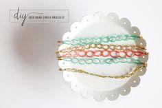 DIY Seed Bead Circle Bracelet | Henry Happened