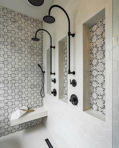 Bad Inspiration, Bathroom Inspiration, Interior Design Inspiration, Design Ideas, Design Trends, Design Design, Creative Design, Modern Design, Dream Bathrooms