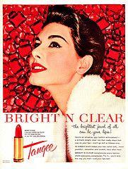 Tangee lipstick #vintage #advertisement #lipstick