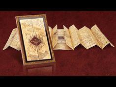 Die Karte des Rumtreibers inklusive Display | Filmrepliken | Harry Potter | Alle Marken | Elbenwald.de