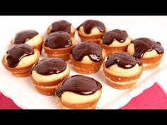 Boston Cream Cupcakes Recipe - Laura Vitale - Laura in the Kitchen Episode 737 - YouTube