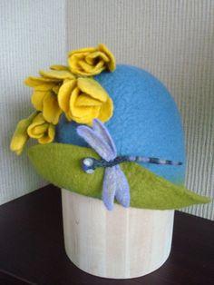 Felt Hat, Felting, Couture, Sombreros, Fedora Hat, Felt Fabric, Haute Couture