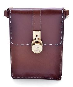 Look what I found on #zulily! Leather Luggage Belt Bag #zulilyfinds