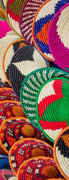 The colorful Maasai Market in Downtown  Nairobi   Kenya - Africa