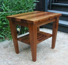 Med Century Modern Matching End Table for by MidCenturyWoodShop, $425.00