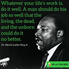 Martin Luther King Jr quote.