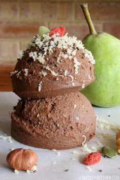 Raw chocolate hazelnut spread (like a healthier version of Nutella). http://talesofakitchen.com/desserts/raw-chocolate-hazelnut-spread-aka-healthy-nutella/