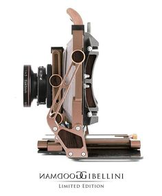 Gibellini Goodman limited edition large format cameras. Pre-orders available on @gibellini_projects website. #gibellinigoodman #gibellini #largeformat #foldingcamera #4x5 #filmcamera #limitededition #limited #gold #wood #custom #customized #custommade #handcrafted #camera #film #analog #cameraporn #buyfilmnotmegapixels #filmsnotdead #analogcamera #highend