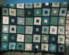 """pigtails: 48 Square """"Little Karoo"""" Throw Finished!"""