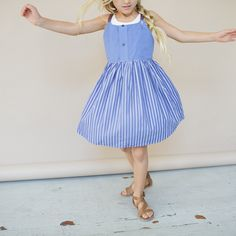 Kallio - Girls Apron Dress