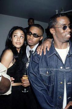 Aaliyah, Nas & Diddy