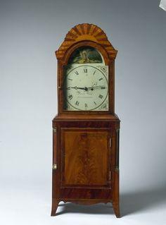 Antique Clocks, Vintage Clocks, Newburyport Massachusetts, Southern Furniture, David Wood, Clock Shop, Cool Clocks, Time Clock, Wood Shelf