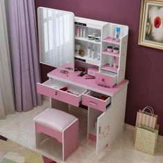 Dresser bedroom make-up table simple modern small mini-size vanity - The JfJ