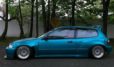 #Honda #Civic_Eg6 #Modified #WideBody #Slammed #Stance
