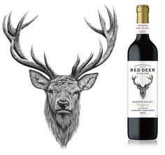 Image result for stag head drawing