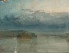 Joseph Mallord William Turner 'Hulks on the Tamar: Twilight' c.1813