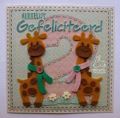 2 giraffen