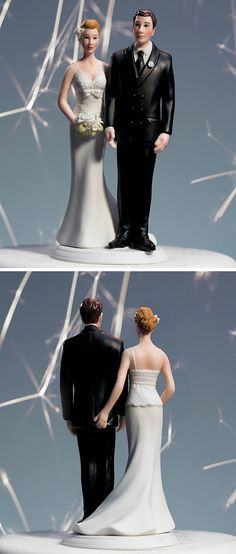 Wedding cake topper #funny $27.97 http://www.amazon.com/Love-Pinch-Bridal-Couple-Figurine/dp/B0024L45JA/?tag=oddee-20